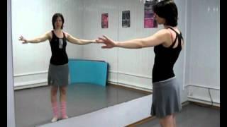 """Восточные танцы - Урок 10 - """"Тряска грудью"""""""