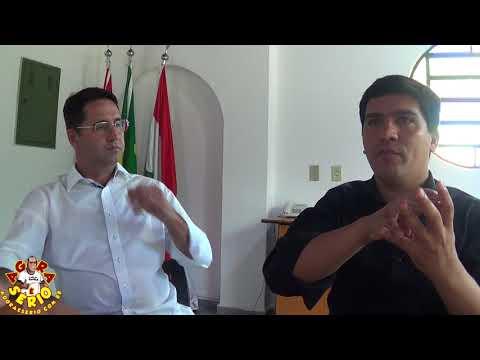 Prefeito Arizinho de São Lourenço da Serra fala sobre a Nova Prefeitura e revela o valor do Aluguel na Lente do Jornal Agora é Sério