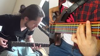 Dream Theater - In The Name Of God(split cam cover)