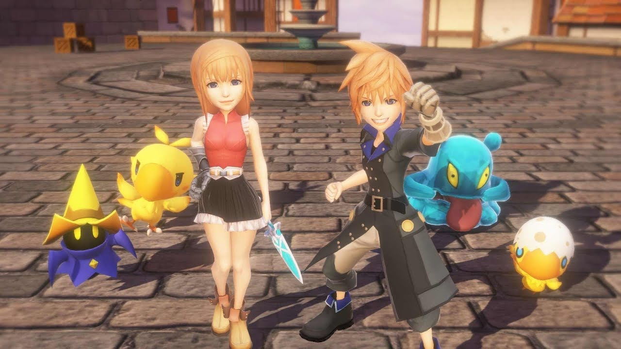 Video World of Final Fantasy® MAXIMA Upgrade [DLC]