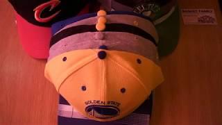 Баскетбольная кепка NBA Golden State Warriors - видео 3