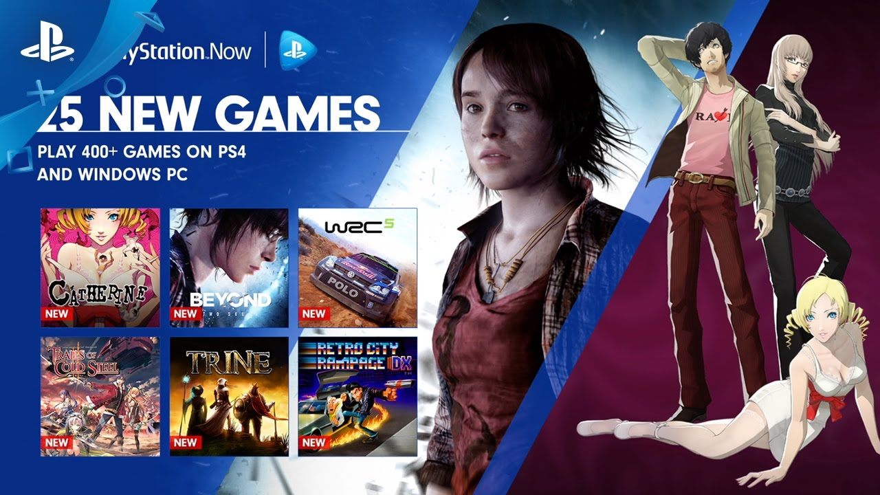 PS Now: Stream Catherine, Beyond: Two Souls, and More Starting Today