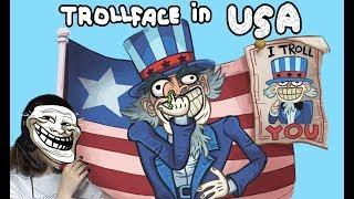 ТРОЛЛФЕЙС В АМЕРИКЕ?!/ TrollFace in USA