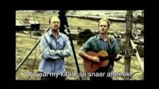 Koos van der Merwe AKA PROPHET - 'HOUTKRUIS'  (Wooden Cross) with lyrics - High Quality Mp3 720p