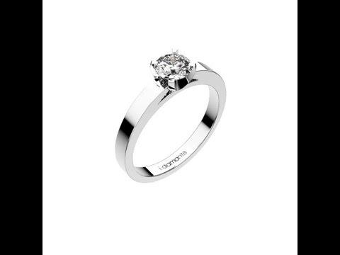 solitaire diamant classique
