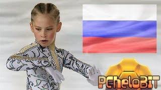 Юлия Липницкая - невероятные вращения./ Julia Lepnitskaya - incredible rotation.