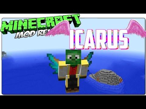 TOMBENPOTTER'S ICARUS MOD 1.7.10 ESPAÑOL | Craftea alas y vuela en survival | MINECRAFT MODS