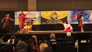 Tinikling Azalea International Folk Fair 1st place winner