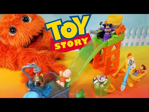 Toy Story Cambiadores de color y diapositivas n Surprise Playset Color Shifters Disney Pixar