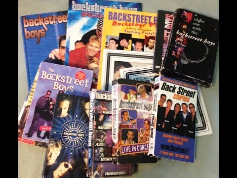 Backstreet Boys Memorabilia Collection