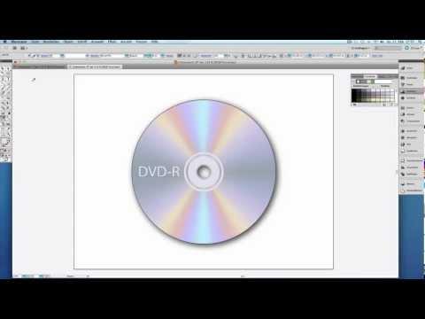 DVD-Rohling erstellen Adobe Illustrator