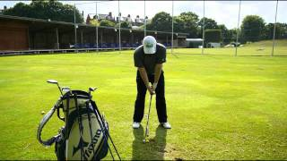Striking The Golf Ball From the Ground and Taking a Divot