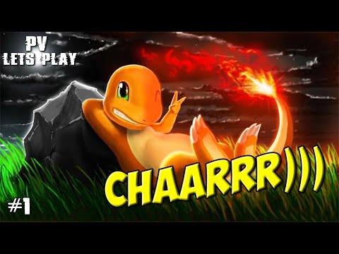 Pokémon Fire Red - Мой первый покемон! (1 серия)
