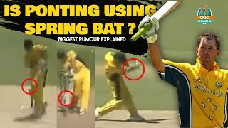 Ricky Ponting Spring Bat Rumour Explained by Cricanandha