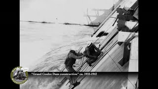 Historic Washington: Grand Coulee Dam construction