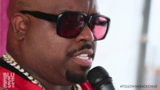 Backstage with CeeLo Green