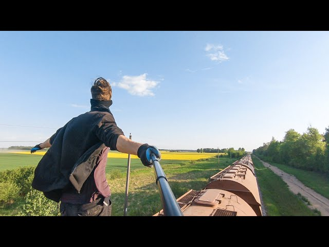Train Surfing Journey To The Baltic Sea | Part 2: The Hunt