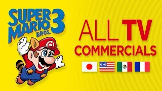 All Super Mario Bros. 3 TV Commercials Compilation