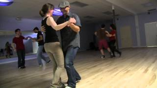 Blues Dancing - Demo By Richard & Heather Joy