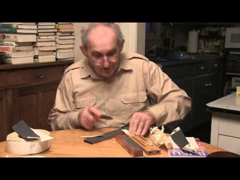 Survival Knife Sharpening Review
