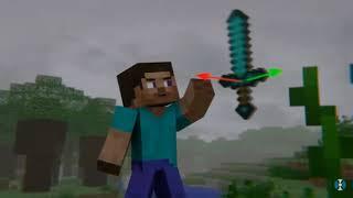 alone Marshmellow Minecraft music video (Animation life)