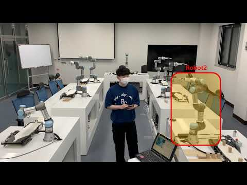 로봇캠퍼스 로봇전자과 협동로봇 동아리 'Creative Passion UR'