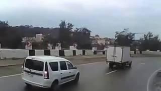ДТП - У фуры отказали тормоза на перевале!!!