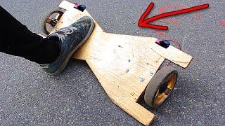 КАК СДЕЛАТЬ ГИРОСКУТЕР В ДОМАШНИХ УСЛОВИЯХ ! HOW to MAKE Hoverboard at home