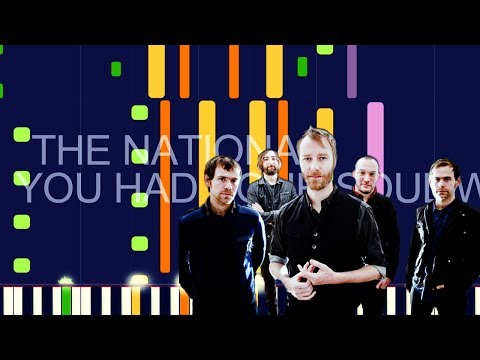 "The National - YOU HAD YOUR SOUL WITH YOU (PRO MIDI REMAKE / CHORDS) - ""in The Style Of"""