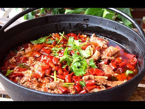 Shuizhu Beef – How to Make Sichuan chili poached beef