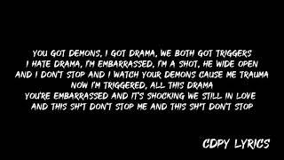 Kehlani - You Know Wassup (Lyrics)