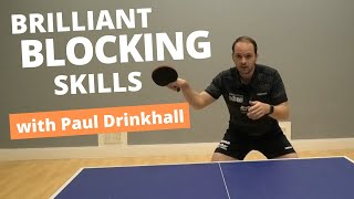 Brilliant blocking skills   Pro tips from PAUL DRINKHALL