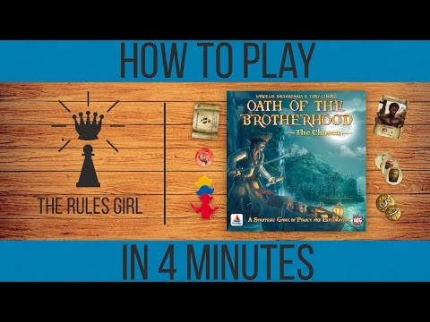 How to Play Oath of the Brotherhood in 4 Minutes - The Rules Girl