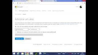 Outlook/Hotmail I Como mudar o nome do seu e-mail I 2015