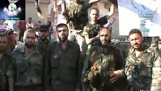 كلمة للقائد العام جمال المعروف في سنة // ٢٠١٢ // عن تحرير قرية البارة والإستيلاء على دبابة وشيلكا