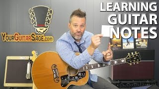 Learning Guitar Notes On The Fretboard (Part 3)
