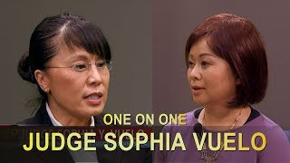 XAV PAUB XAV POM: EXCLUSIVE INTERVIEW WITH JUDGE SOPHIA VUELO SINCE HER APPOINTMENT.