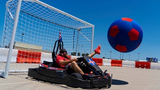 Go Kart Soccer Battle | Dude Perfect - Video Youtube