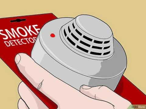 Cómo desactivar una alarma contra incendios