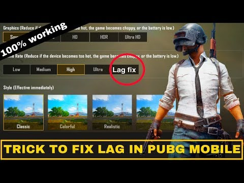 HOW TO FIX LAG PROBLEM IN PUBG MOBILE - FIX LAG ISSUES IN PUBG