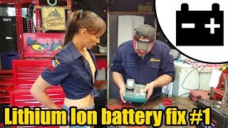 Lithium Ion battery Fix #1 Ft. Tool Girl Hana #1444