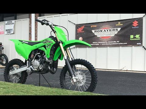 2021 Kawasaki KX 85 in Greenville, North Carolina - Video 1