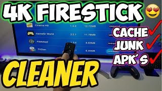 🔴4K FIRESTICK & ANDROID CLEANING APK (CACHE / TEMP / JUNK FILE REMOVER) 2018