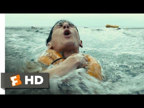 Unbroken (2/10) Movie CLIP - Plane Crash at Sea (2014) HD