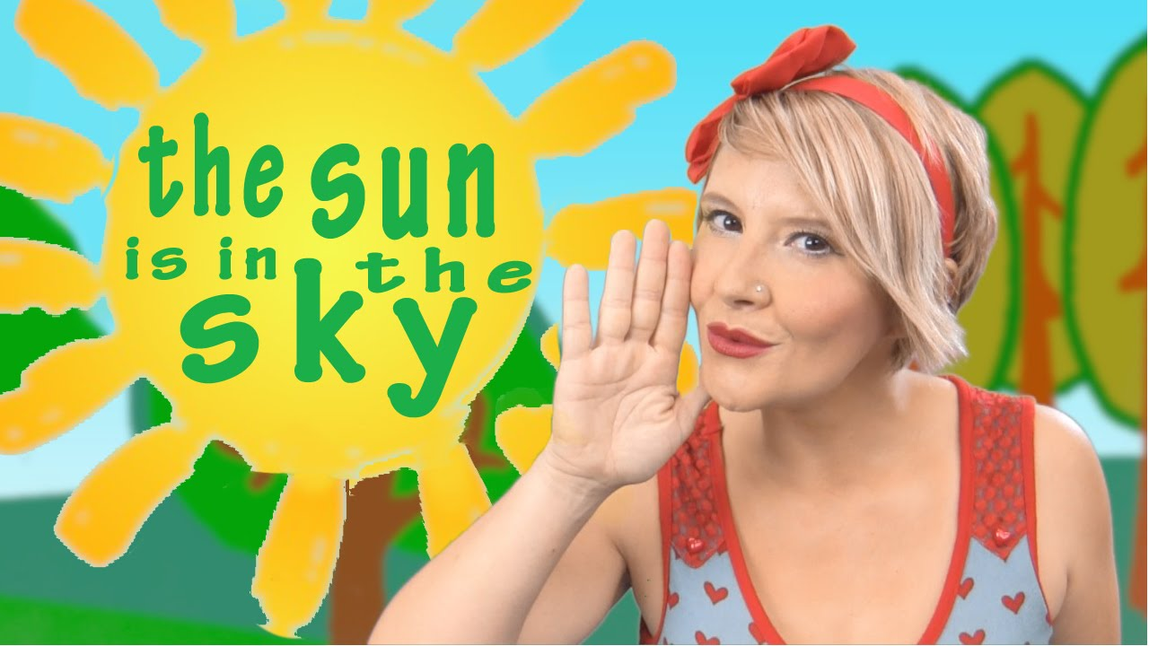 THE SUN IS IN THE SKY  Dubbi Kids Children's songs ( Canciones Infantiles )
