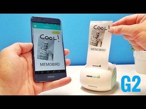 MEMOBIRD G2 Pocket Wireless Printer REVIEW – Super Cool!