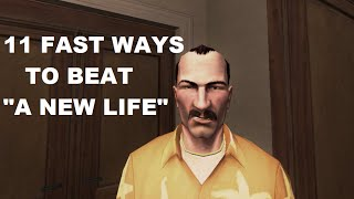 "Hitman Blood Money - 11 fast ways to beat ""A New Life"" (Silent Assassin)"