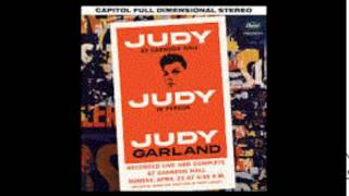 Chicago! Judy Garland's classic version at Carnegie Hall, 1961