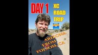 DAY 1: XC MOTOVLOG  California to Arizona