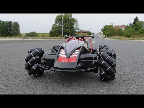 Z108 - Gigant heavy 1/10 scale car on Mecanum wheels